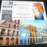 "Barbara Piatti expose ""CUBA"" au Salon d'art contemporain art3f PARIS  27-28-29 Janvier 2017"