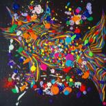 Painting, acrylic, abstract, artwork by Polina Welscher