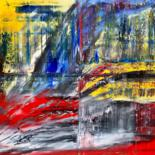 """Painting titled """"Abstract Oil Painti…"""" by Rico Mocellin, Original Art, Oil"""