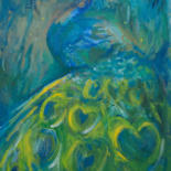 Peacocks by River E. C. Darling