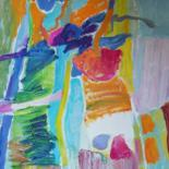 """Painting titled """"Abstract"""" by Rodica, Original Art,"""
