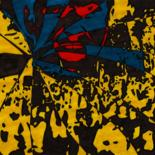 """Drawing titled """"Yellow Fashion week…"""" by Rom1thewood, Original Art, Ink"""
