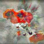 Photography, digital photography, abstract, artwork by Michel Guillaumeau