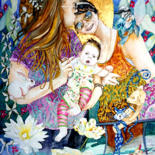 Portraits Children - by Kerry Scally by Scally Art