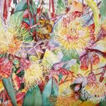 Flowers in Watercolour by Scally Art
