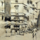 Toulouse  croquis by Isabelle Seruch Capouillez