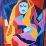 Unbounded Love(Mother & Child) by Seshadri