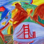 San Francisco and other Abstract Paintings by Seshadri