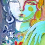 """Painting titled """"night & day"""" by Simon Taylor, Original Art,"""