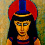"""Painting titled """"Isis"""" by Sliver Moon Designs, Original Art, Oil"""