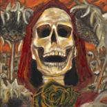 """Painting titled """"Autumn Death"""" by Sliver Moon Designs, Original Art, Oil"""