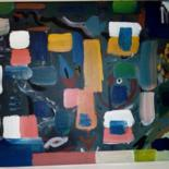 Painting, acrylic, abstract, artwork by Yehor Solomakha