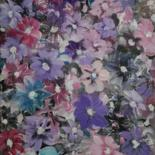 """Painting titled """"Spring Meadow"""" by Nataliia Plakhotnyk, Original Art, Acrylic"""