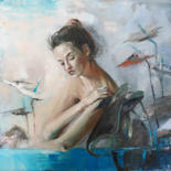Painting, oil, figurative, artwork by Tatyana Kaganets