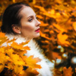 """Photography titled """"Mood Color - Autumn…"""" by Alexander Tarasenkov, Original Art, Non Manipulated Photography"""