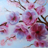 """Painting titled """"Flowers for you"""" by Tanja Frost, Original Art, Oil Mounted on Stretcher frame"""