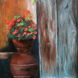"""Painting titled """"Nostalgia - new ori…"""" by Tanja Frost, Original Art, Oil"""
