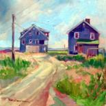 Shorelines In Oil by Don Bourret