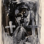 """Drawing titled """"Gueule Cassée"""" by Thierry Chavenon, Original Art, Oil Mounted on Other rigid panel"""