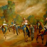 HUILE-CHEVAL-ATTELAGE-POLO-DRESSAGE-COURSE - by Thierry Faure