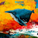 """Painting titled """"Baleine Naine"""" by Toma, Original Art, Acrylic"""