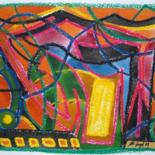 2008:  Oilpastel / Aquarell by Ulli Heupel