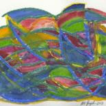 2004 Oilpastel / Aquarell by Ulli Heupel