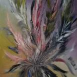 Painting, oil, abstract, artwork by Vala