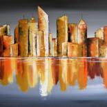 Acryliques : Cities by Valérie Lamarre