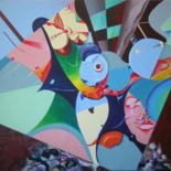 Larger Paintings by Victor X