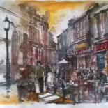 19.7x27.6 in © by Watercolorist Lorand Sipos