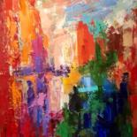 Painting, oil, abstract, artwork by Vera Klimova