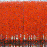 """Painting titled """"LATE AUTUMN 10"""" by Xuan Khanh Nguyen, Original Art, Acrylic"""